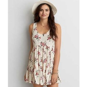 American eagle outfitters tiered babydoll dress